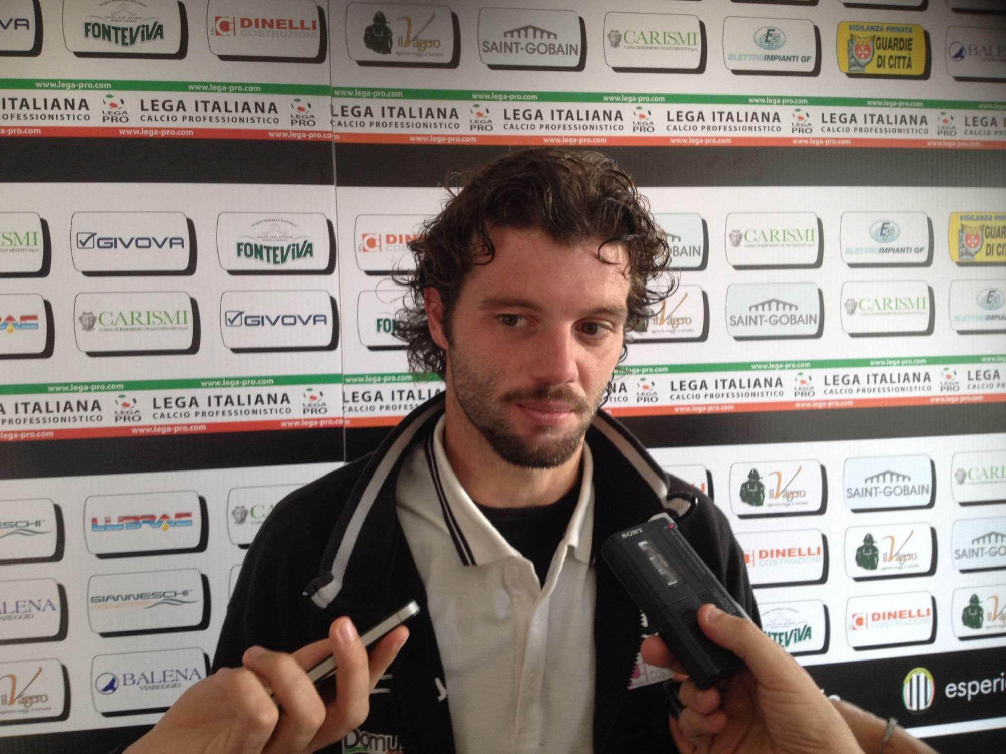 """Il Viareggio ritrova capitan Pizza: """"Non abbiamo subìto gol, la squadra sta crescendo"""""""