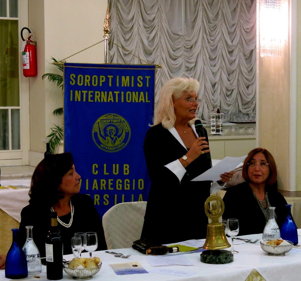 Si è aperto l'anno sociale del Soroptimist Club Viareggio-Versilia