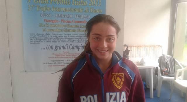 Tour de force per Diletta Carli agli Europei di nuoto