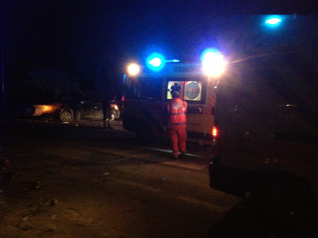 Incidente a Viareggio, in Coma il conducente di una moto