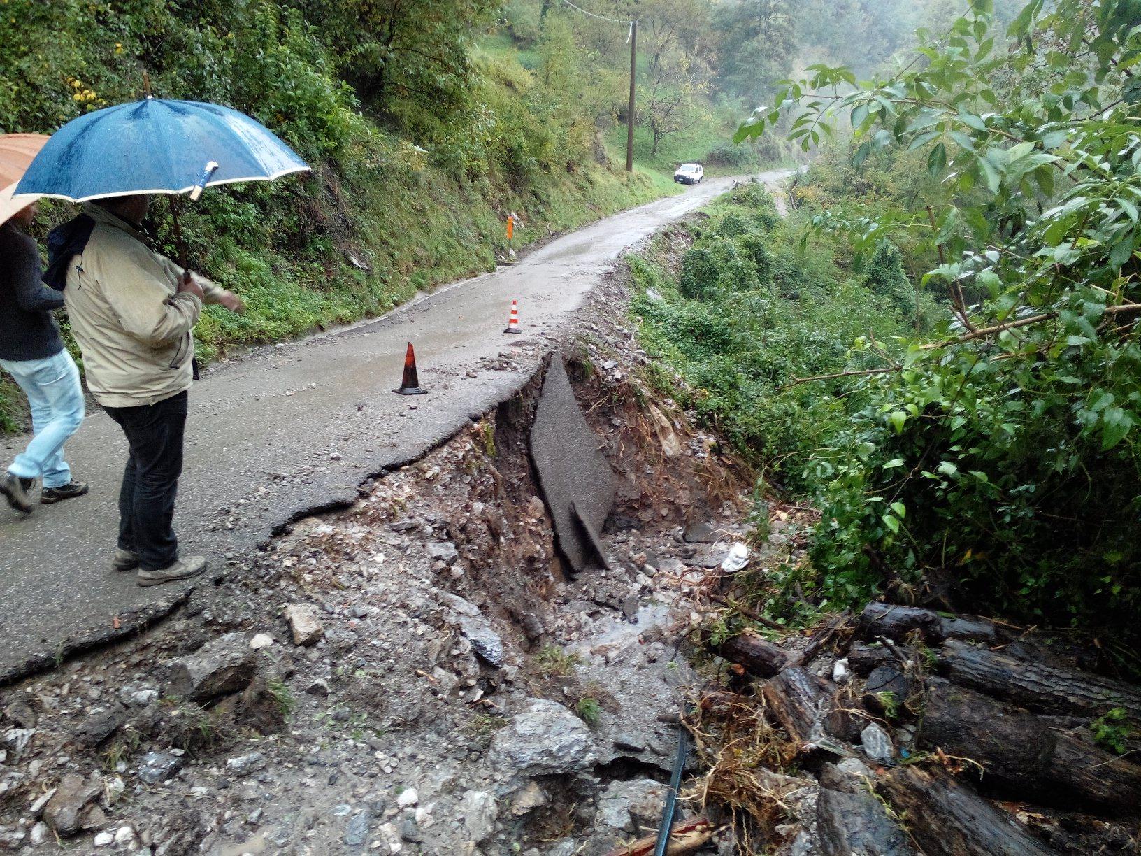 Frane per il maltempo, al via i lavori a Palagnana