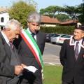 anto Michele Molino (V. Sindaco di F. dei Marmi) ricorda le Vittime del 1-11-1943 a Vittoria Apuana (celebrazione 1-11-2013)