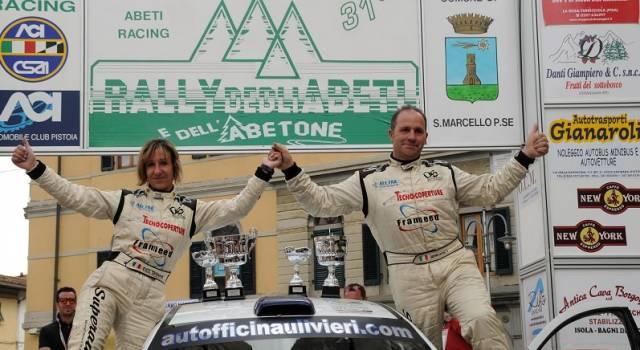 Gabriele Lucchesi si aggiudica il Trofeo Rally Automobile Club Lucca