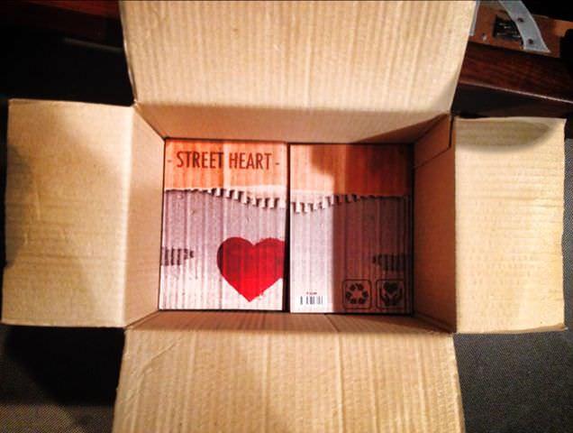 I cuori di Viareggio raccolti nel libro di Street Heart