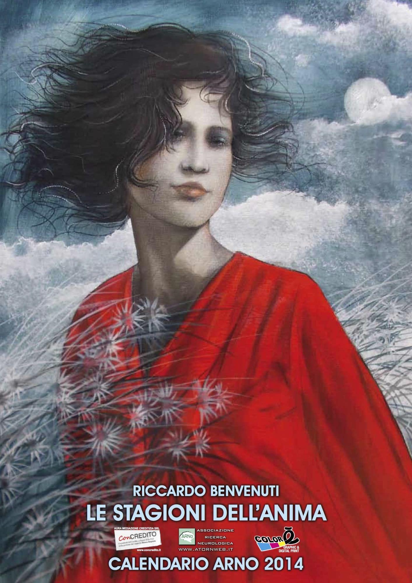 Un sostegno alla ricerca neurologica con il calendario di Riccardo Benvenuti per Arno