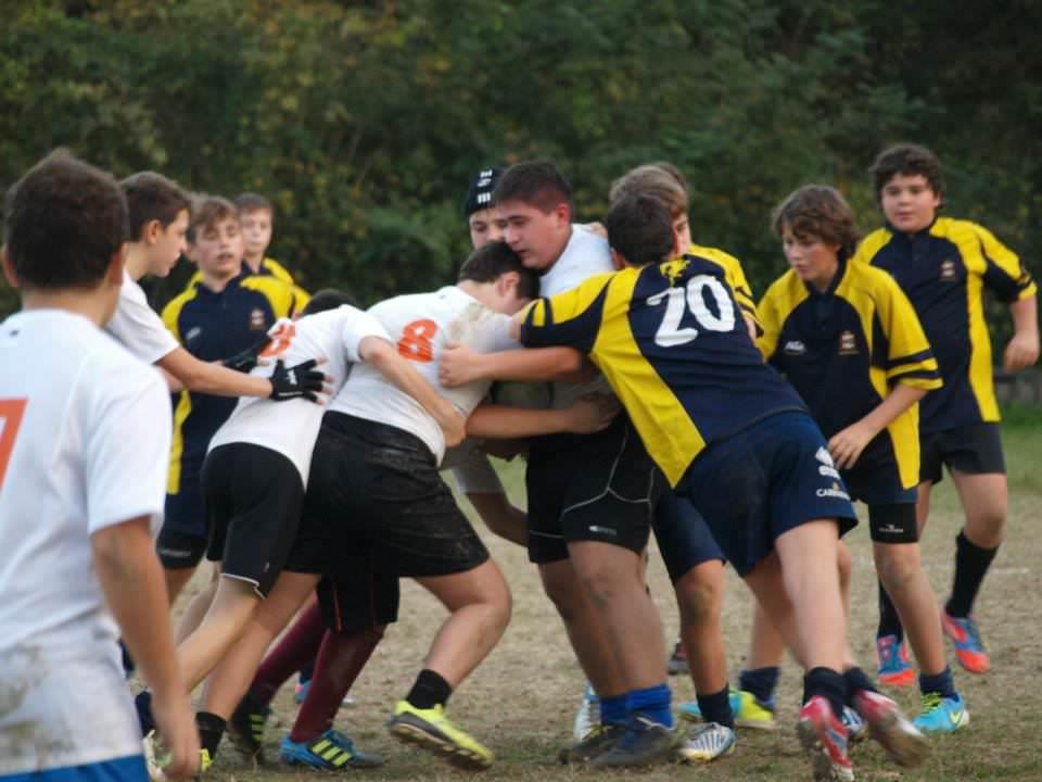 Rugby, successo per il concentramento organizzato dall'Union Versilia