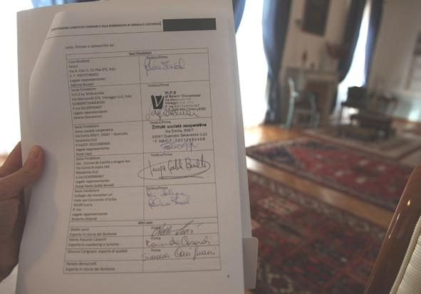Nasce il Comitato di Valorizzazione delle ville e degli itinerari borbonici in Versilia