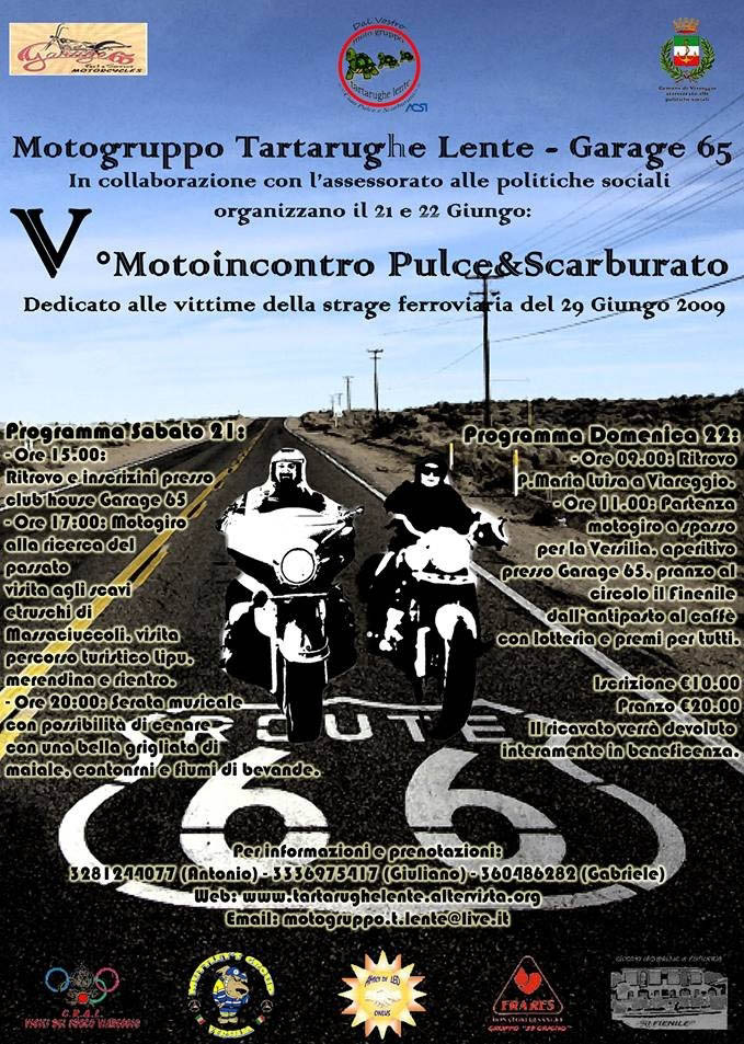"""Quinto motoincontro """"Pulce & Scarburato"""", due giorni in ricordo delle vittime della strage"""