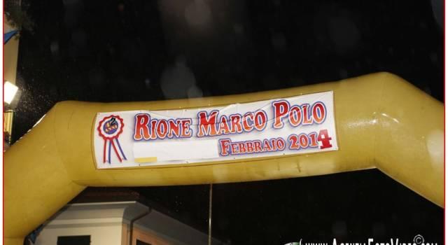 Rione Marco Polo, sosta vietata e strade chiuse