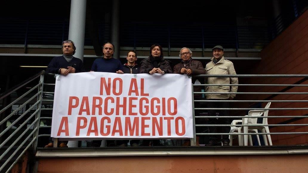 """""""No al parcheggio a pagamento all'Ospedale Versilia"""""""