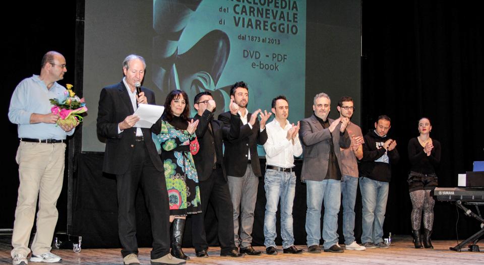 Successo al teatro Jenco per la presentazione dell'ebook sul Carnevale di Grossi e Pieraccini
