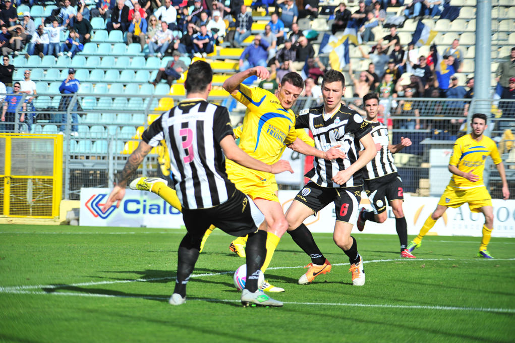 La sintesi di Frosinone-Viareggio (video)