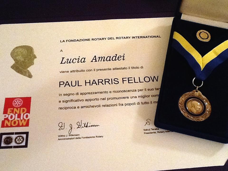All'oncologa Lucia Amadei il Premio al Service del Rotary Club Viareggio Versilia