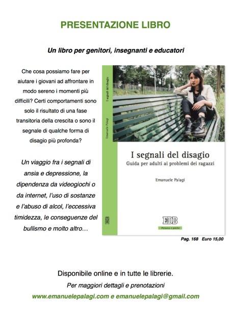 In tutte le librerie la guida per adulti ai problemi dei ragazzi scritta da Emanuele Palagi