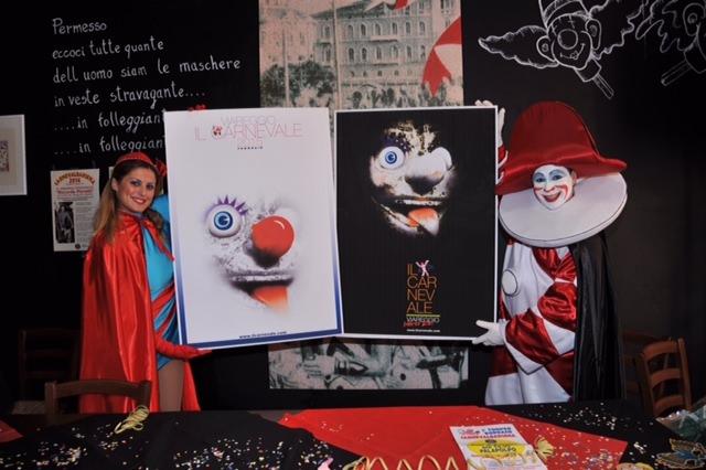 Svelato il manifesto del Carnevale di Viareggio 2015