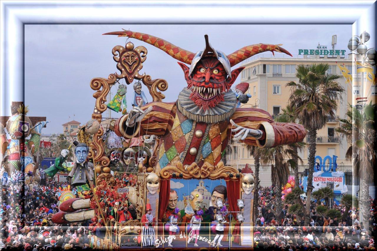 Carnevale. I carri di seconda categoria negli scatti di Fotomania