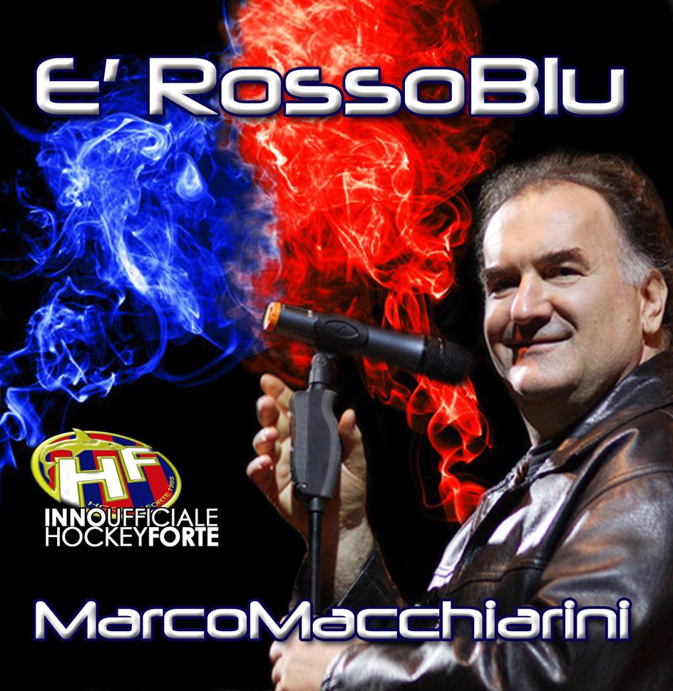 """""""È RossoBlu"""", l'inno dell'Alimac Forte realizzato da Marco Macchiarini"""