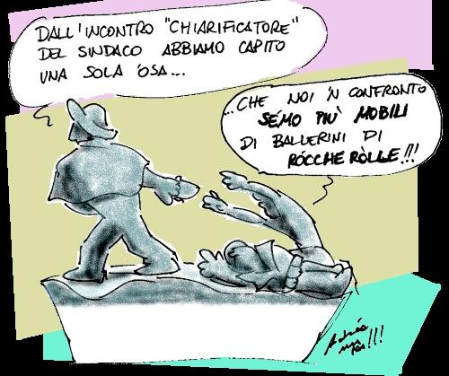 La vignetta di Alla Fóa