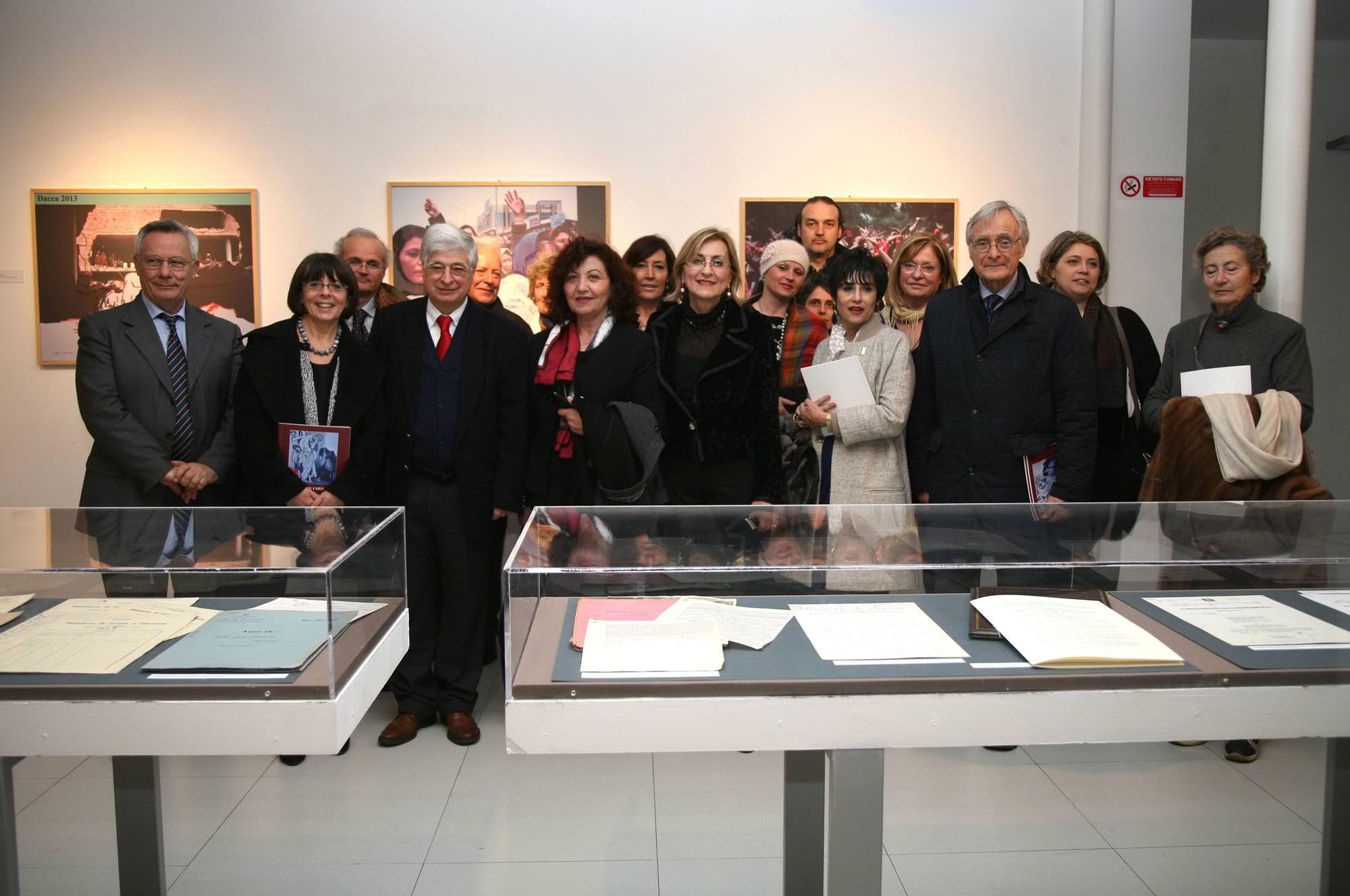 """Inaugurata a Roma la mostra """"Dolcezza Violata"""" di Carlo Carli"""