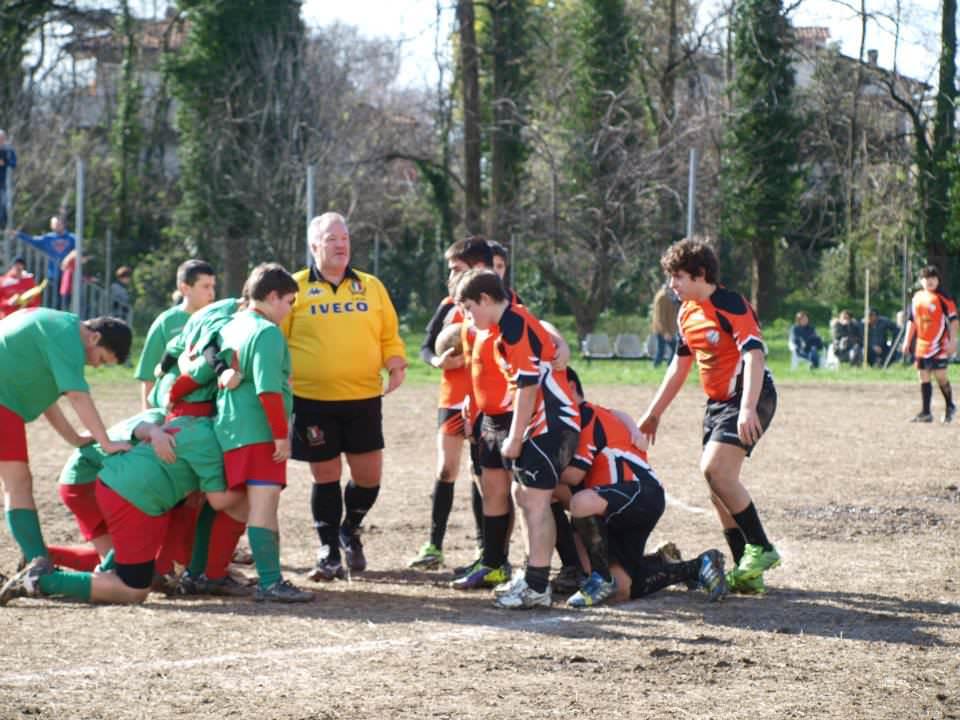 Una vittoria e una sconfitta per l'Under 14 del Rugby Union Versilia