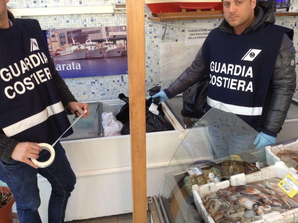 """Operazione """"Palinurus"""". 200 chili di pesce sequestrato"""