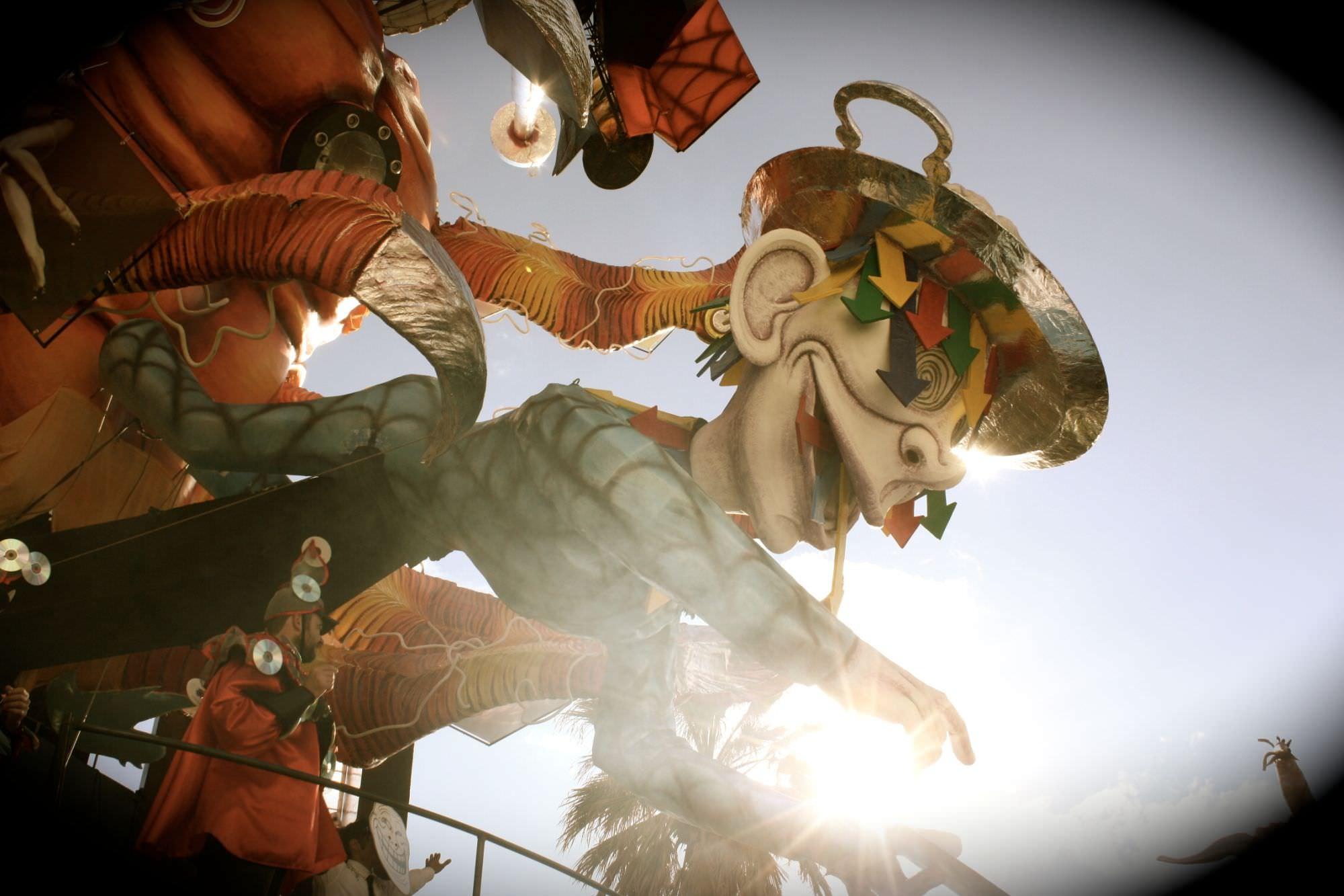 Carnevale di Viareggio 2014, il terzo corso. Le foto