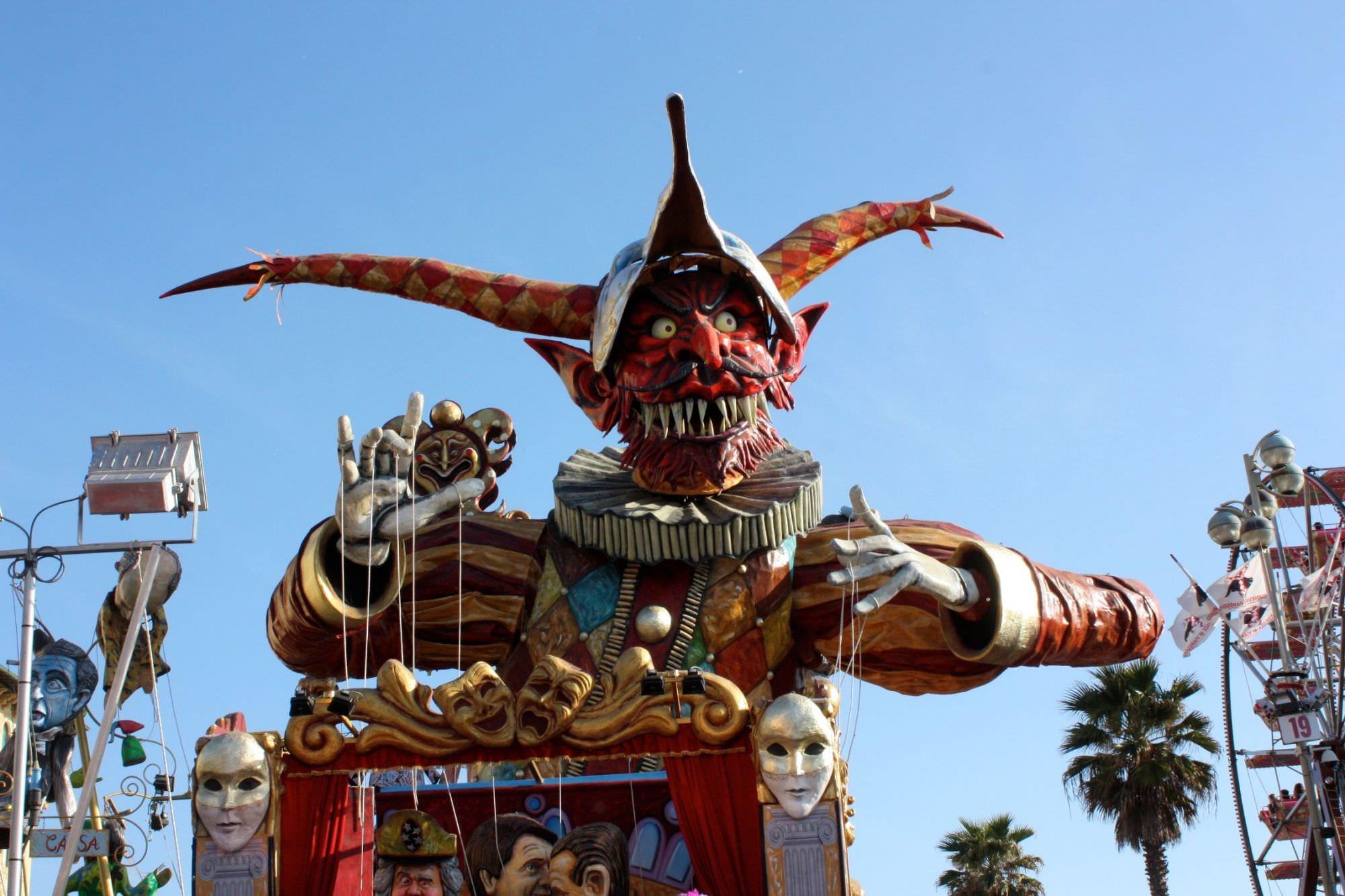 Carnevale di Viareggio 2014, le schede dei giurati di seconda categoria