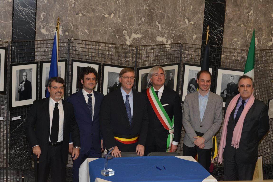 Siglato il protocollo d'intesa per un piano di relazioni e sviluppo turistico tra Forte dei Marmi ed Etterbeek