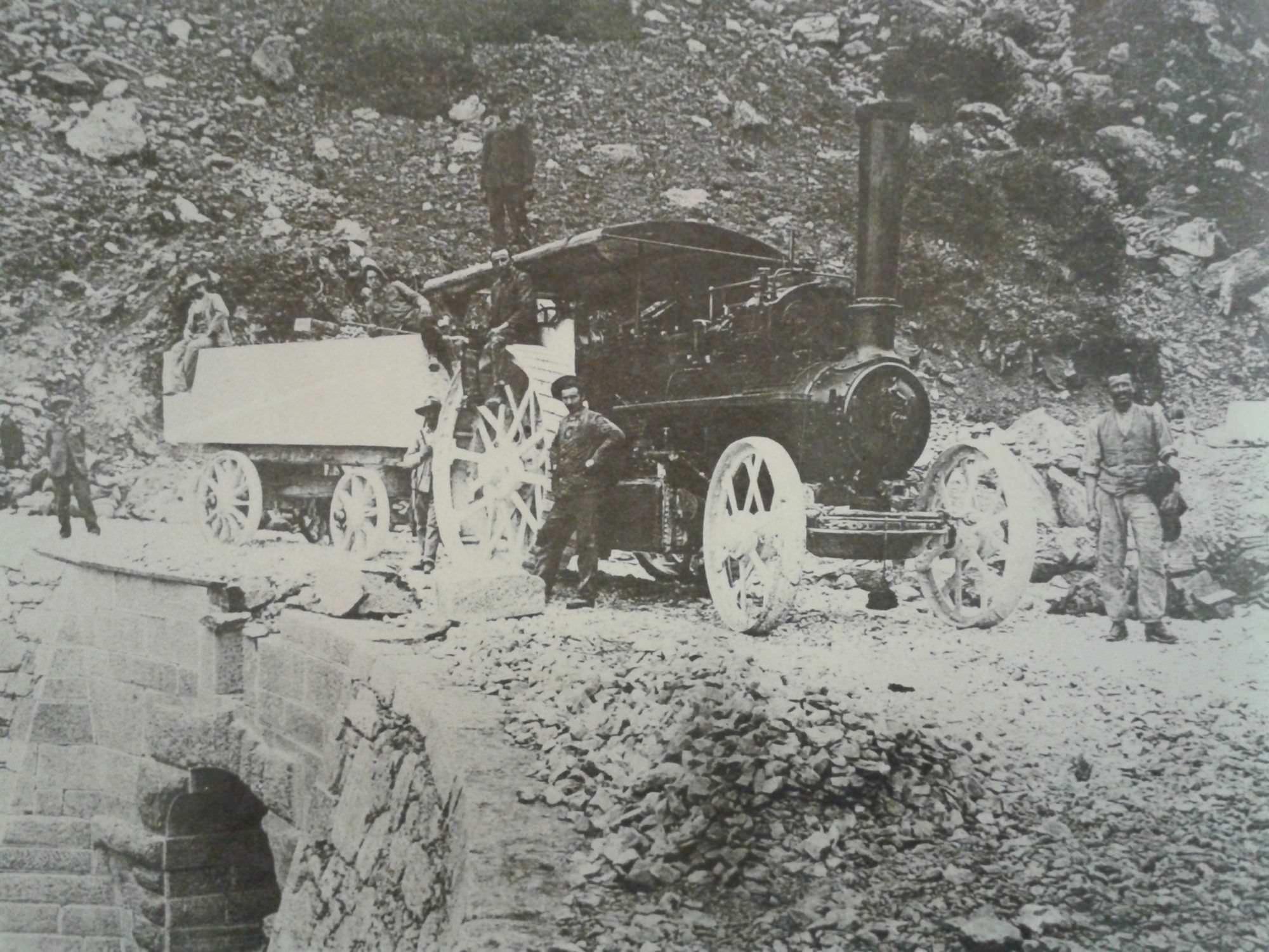 La ciabattona: quando in Versilia ci si muoveva col treno a carbone