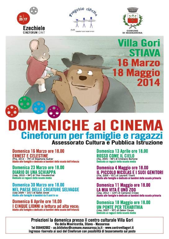 Domenica al cinema a Villa Gori