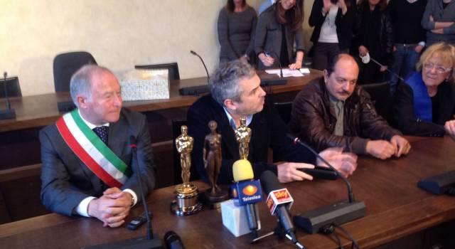 Un Oscar a Pietrasanta. Grande visibilità internazionale per la Piccola Atene