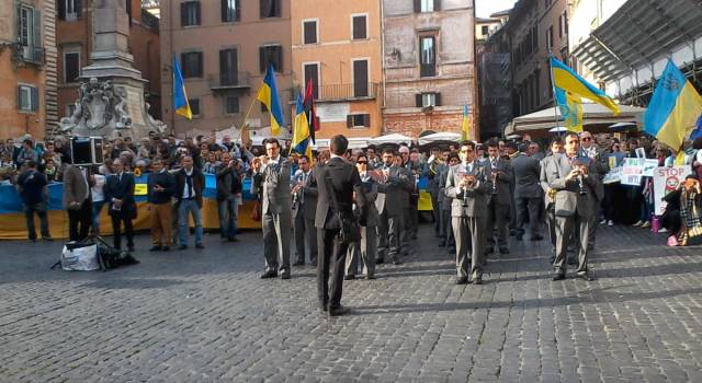 Trasferta romana per la Filarmonica Santa Cecilia di Farnocchia