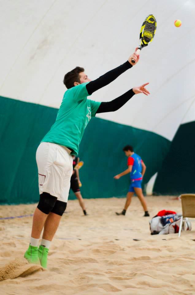 7 giocatori di beach tennis portoghesi a Viareggio