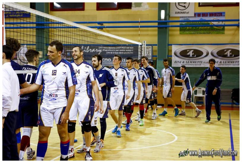 Volley, Massa alza il muro con Filippo Pagni