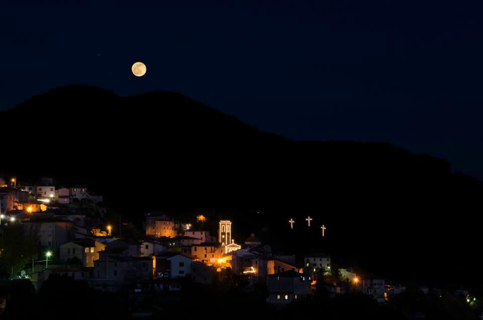 Venerdì Santo tra suggestione e meditazione a Capezzano Monte
