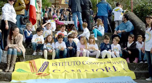 25 aprile a Marignana. Il programma e i nomi di tutti i bambini premiati