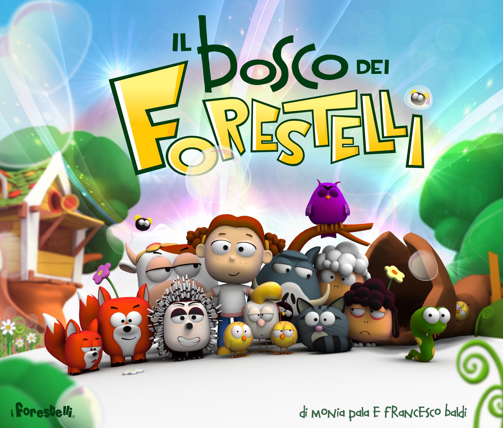 """Cartoni animati made in Forte dei Marmi. """"Il Bosco dei Forestelli"""" presentato al Festival dell'animazione di Venezia"""