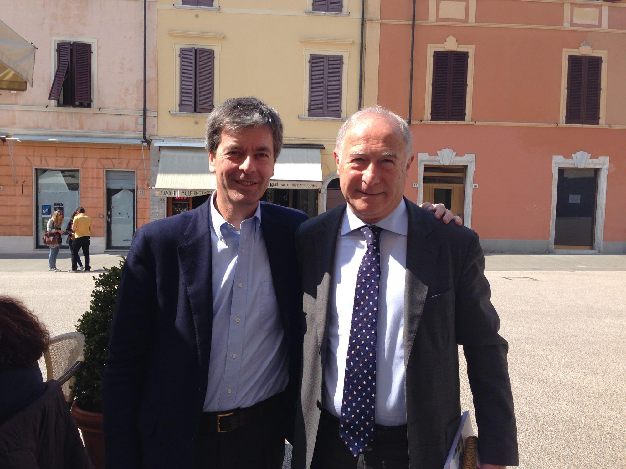 Leonardo Domenici a Pietrasanta in vista delle elezioni europee