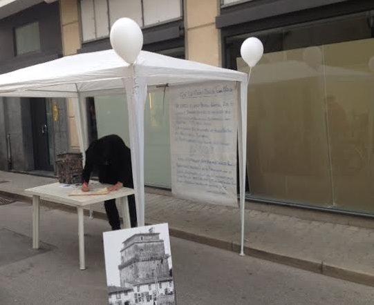 """""""No al trasferimento della Torre Matilde in Piazza Mazzini"""". Ma era un pesce d'Aprile"""