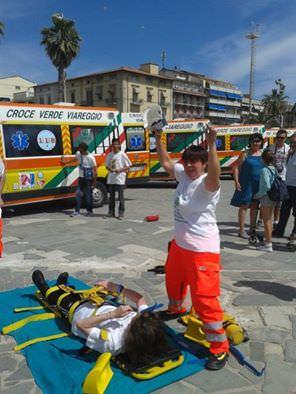 """125 anni della Croce Verde di Viareggio. """"Un grazie a tutti i volontari"""""""
