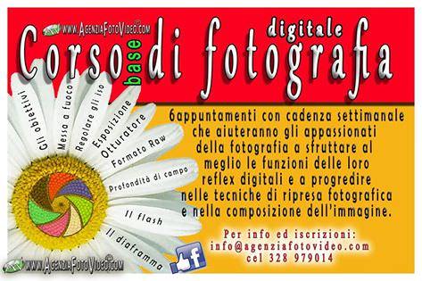 Si impara la fotografia con il corso base di Agenzia Foto Video