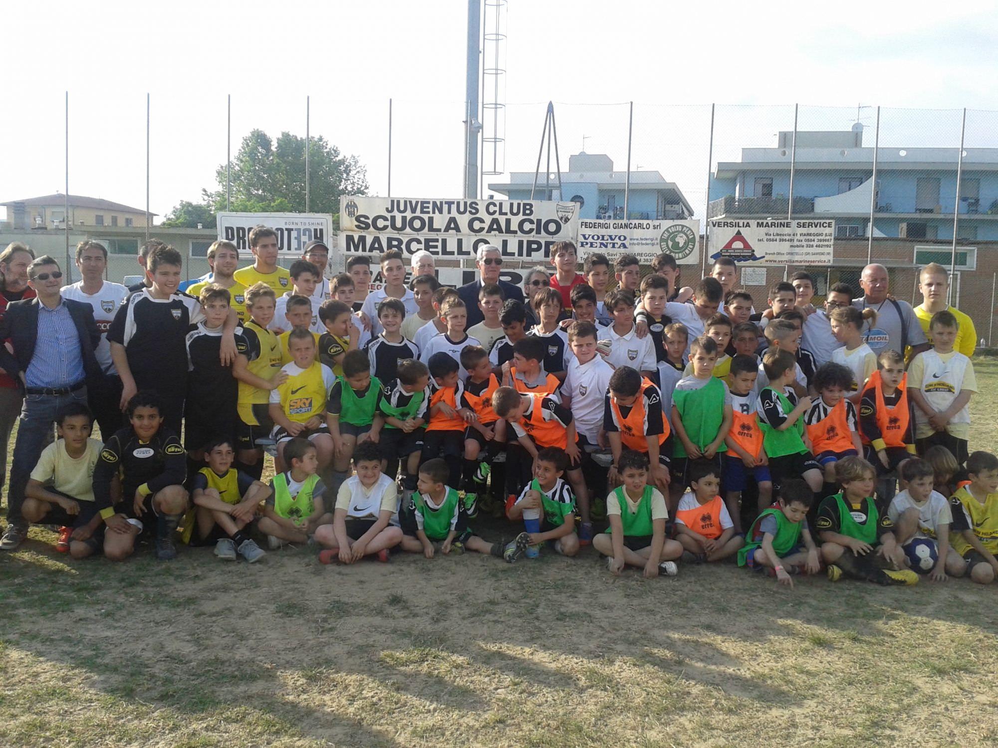 Aperte le iscrizioni alla scuola calcio Marcello Lippi dello Juventus Club Viareggio