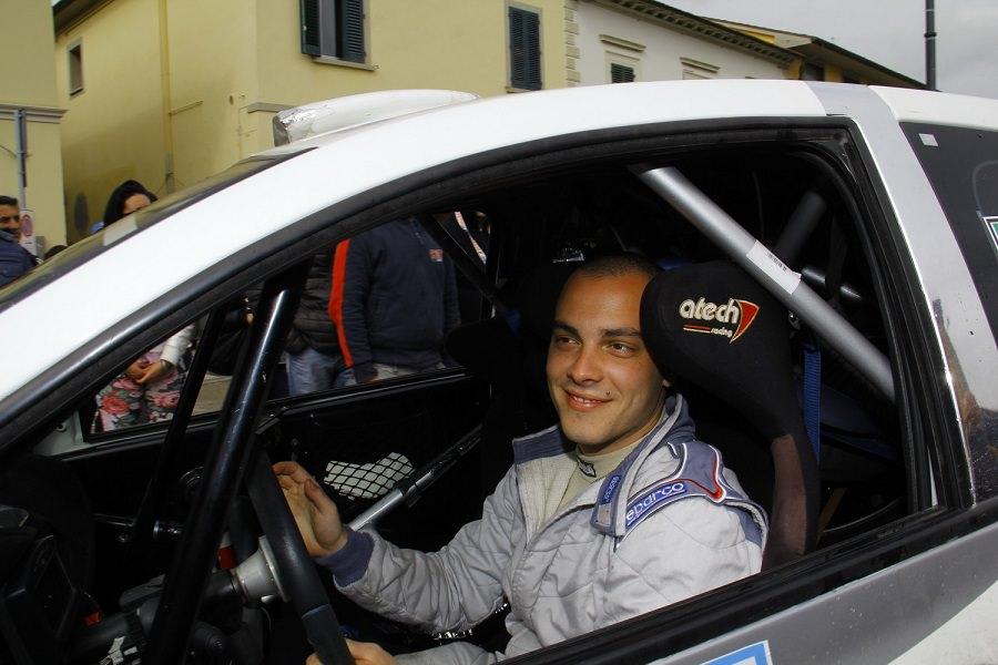 Il lidese Bonuccelli in testa al trofeo Rally Automobile Club Lucca