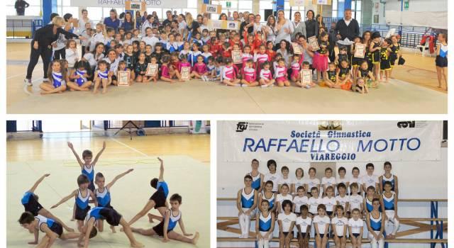 I giovani ginnasti della Motto brillano a Montevarchi