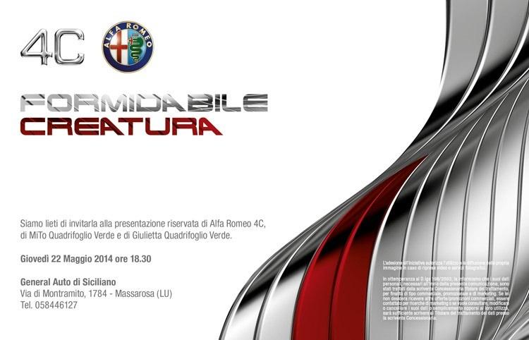 """Il """"4C Tour"""" firmato Alfa Romeo fa tappa a Viareggio"""