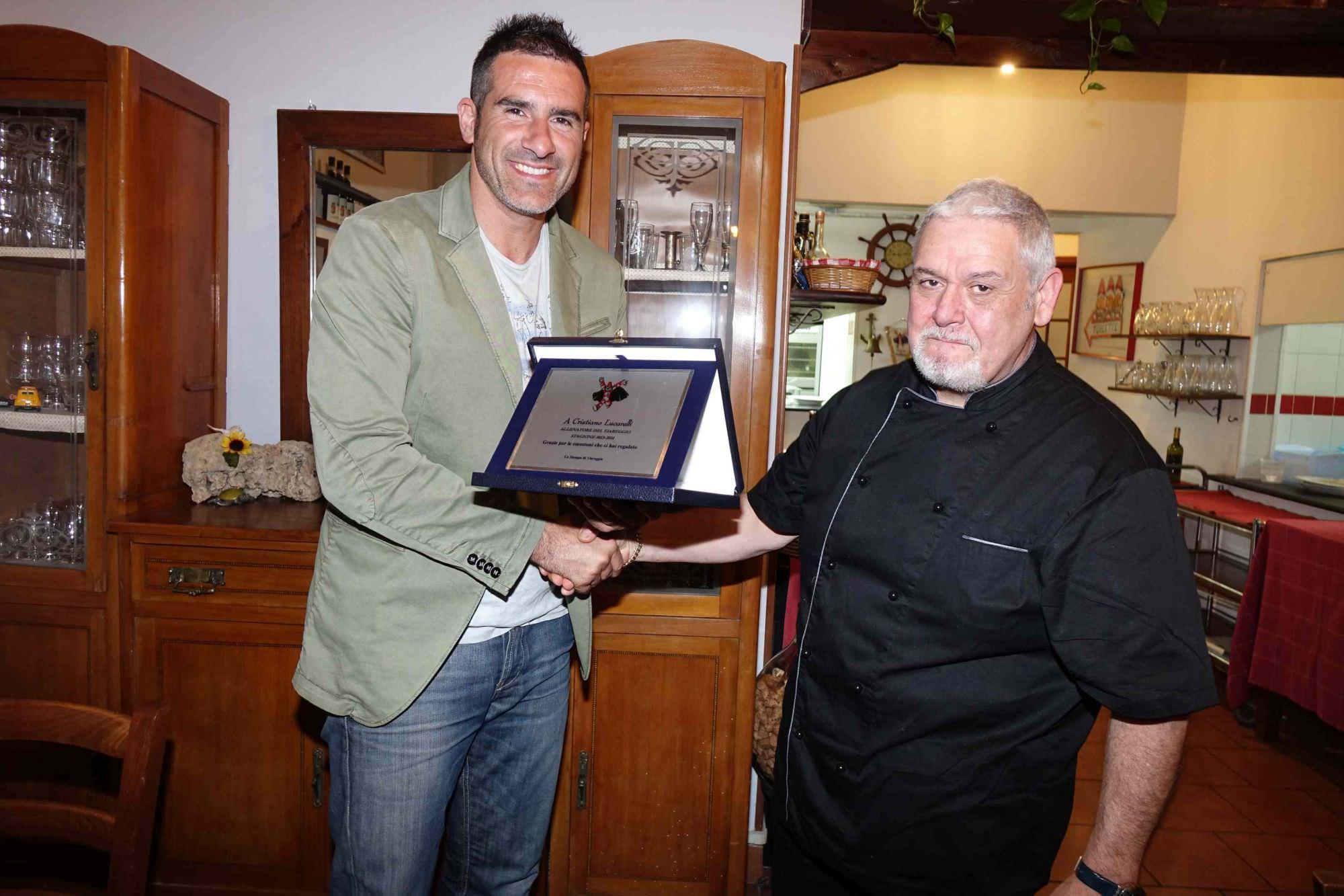 La stampa viareggina premia Lucarelli e Conticchio