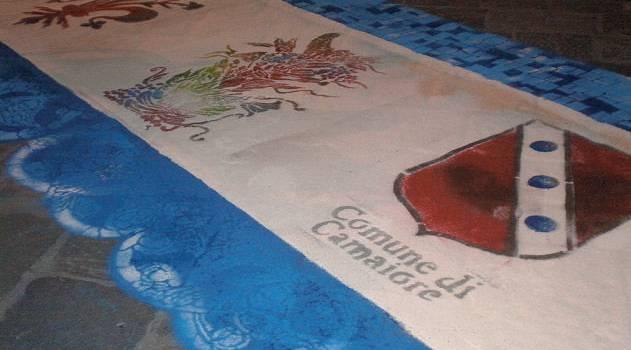 I tappeti di segatura in bella mostra alla notte bianca di Firenze