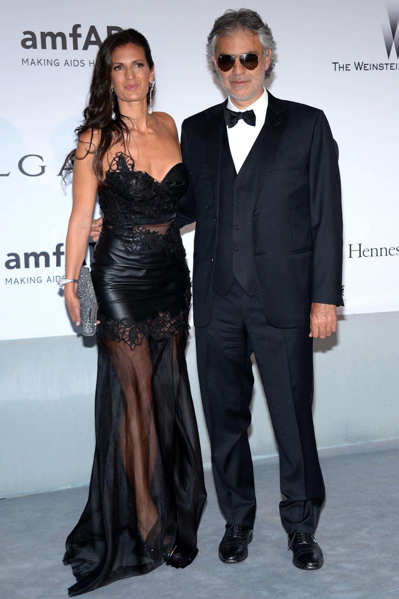 Abito di Ermanno Scervino per Veronica Berti Bocelli sulla croisette di Cannes