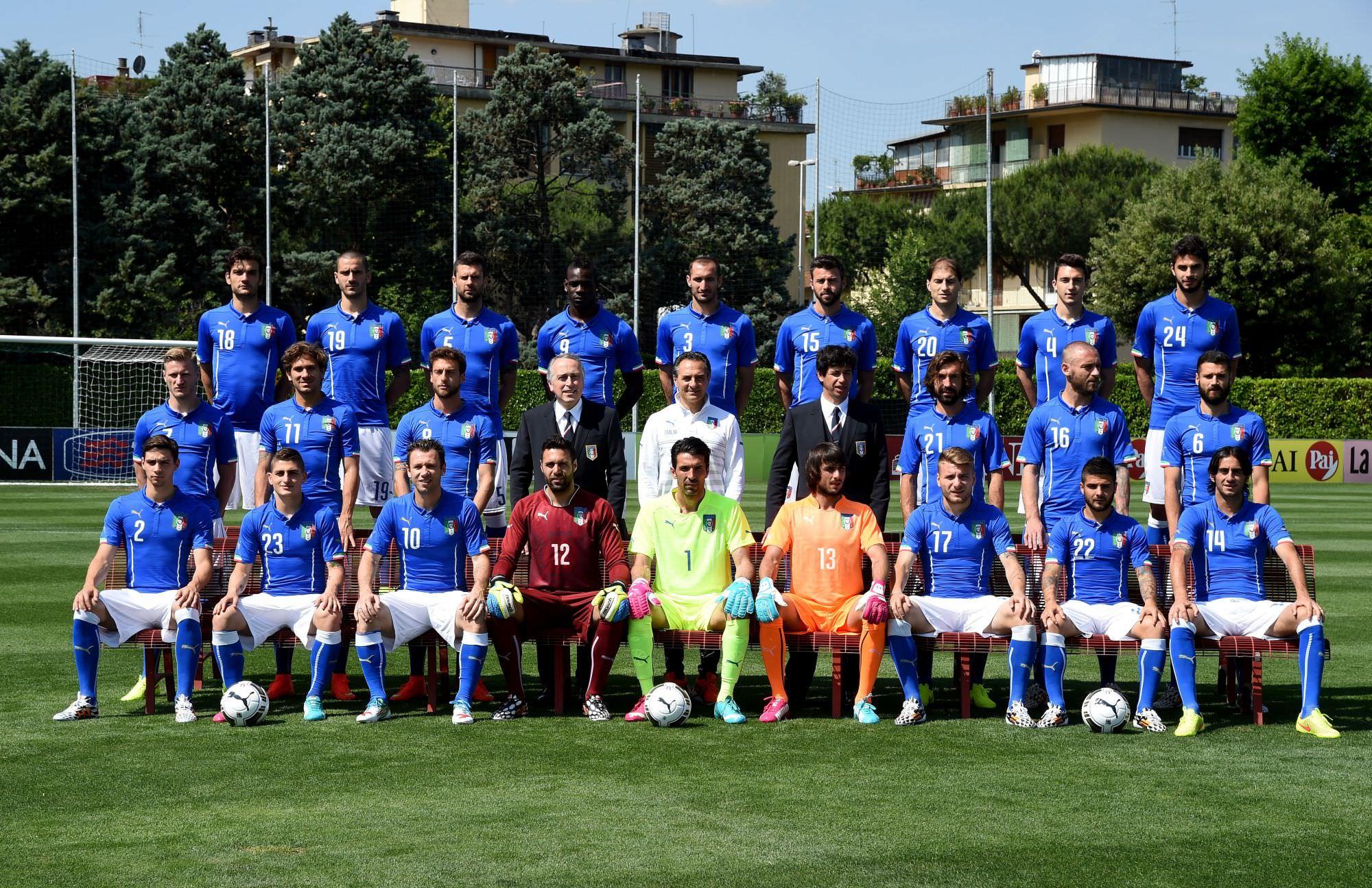 """Mondiali di calcio 2014, in Brasile una nazionale italiana piena di """"viareggini"""""""