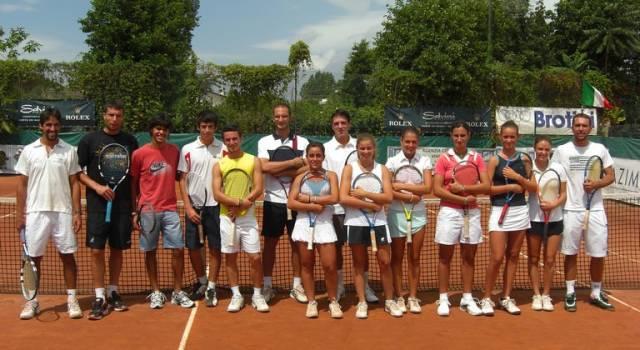 Torneo di quarta categoria al Tennis Club Italia